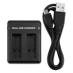 Dual Poort USB AHDBT-501 Batterij Oplader Voor GoPro Hero 5  