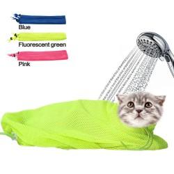 Mesh Cat Grooming Bathing Bag