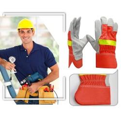 Gants de Protection Ignifuges avec Bande Réfléchissante