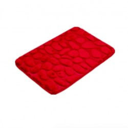 Coral Fleece Bathroom Memory Foam Rug Non-slip Floor Mat