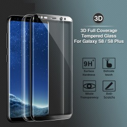 Samsung Galaxy S8 S8 Plus Tempered Glass 3D Full Screen Protector