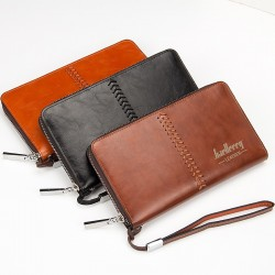Luxury Men's Clutch Wallet Purse