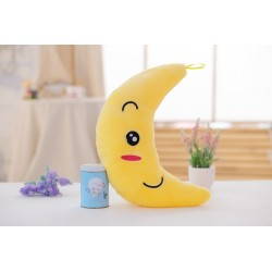 Plush moon doll with colourful led lights 35 cm