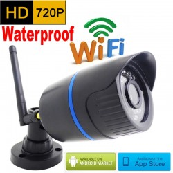720P HD Wi- Fi Outdoor Waterproof Infrared CCTV Security Camera