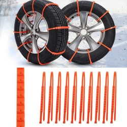 Car Winter Tyre Anti-Skid Chains Set 10 pcs|
