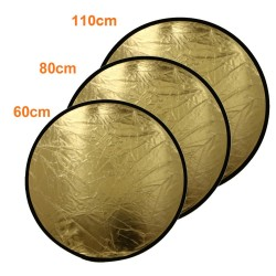 2 in 1 Light Multi Collapsible Disc Photography Reflector Photo Studio