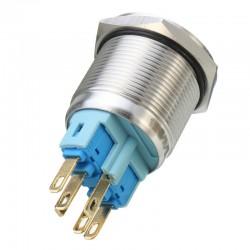 Interrupter Lumière 6 Pin 22mm 12V LED