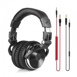 Professionelle DJ Studio Kopfhörer Verdrahtet Stereo Headset