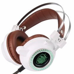 Casque Stéréo V2 LED Light Hi-Fi MP3