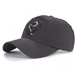 Baseballcap met anker - katoen - verstelbaar - unisex