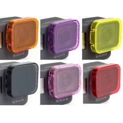 GoPro Hero 5 Onderwater Lens Filter Beschermhoes 6 Stuks