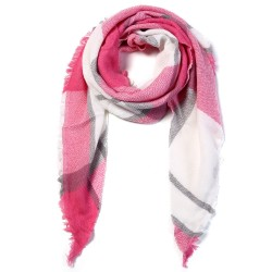 Triangle winter scarf - premium quality cotton