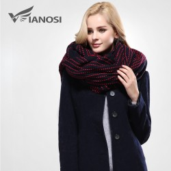 VIANOSI Newest Design Scarf Soft Warm Scarf Winter Brand Shawl for Women Fashion Tassel Thicken Lo