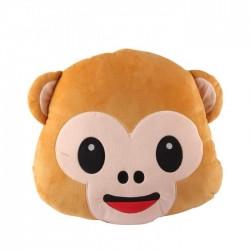 Plush Monkey Emoji Pillow Seat Chair Cushion