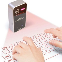 Virtual English Keyboard Bluetooth Laser Projection With Mouse Function