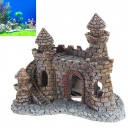 Aquarium Hars Kasteel Toren Ornament
