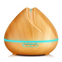 Diffuseur Aromes Essentiels 400ml LED Humidificateur