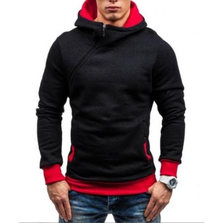 Men's Fashion Zipper Hoodie