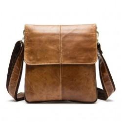Genuine Leather Crossbody Shoulder Bag