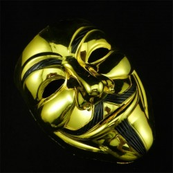 Anonymous Halloween Gezichtsmasker