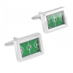Football Field Table-football Cufflinks