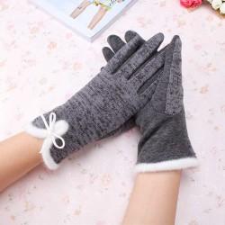 Cotton Wool Cashmere Elegant Gloves