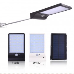 Solar Power Street Waterproof Light 48 Led PIR Motion Sensor