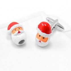 Santa Claus Design Cufflinks