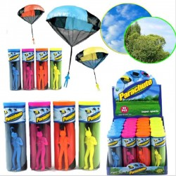 Hand Throwing Parachute Mini Soldier Toy Kite