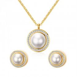 Vnox Imitation Pearl...