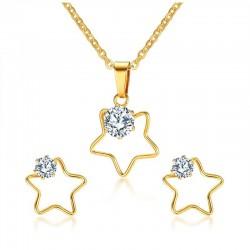 Vnox Five Stars Necklace...