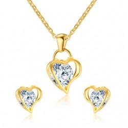 Vnox Love Heart Necklace...