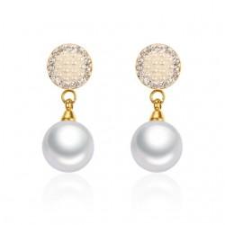 Pearls & Crystals Earrings