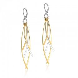 Vnox Long Drop Earrings for Women Stainless Steel Tassel Ear Fashion Dangle