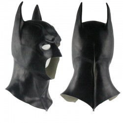 Halloween Vollgesichts Latex Batman Maske