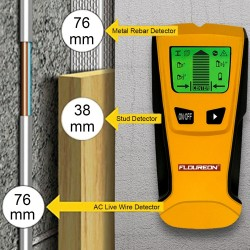 3 In 1 Electronic Stud Center Finder Metal & AC Live Wire Detector