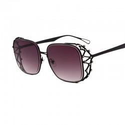 Vintage Steampunk Quadrat Straßstein Sonnenbrille