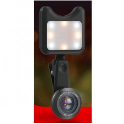 iPhone 3 in 1 Camera Wide Macro & Led Licht Lens Kit