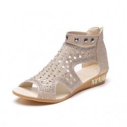Sandales fashion de gladiateur