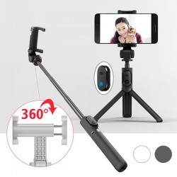 Original Xiaomi Handheld Mini Foldable Tripod 2 in 1 Monopod Selfie Stick Bluetooth Wireless