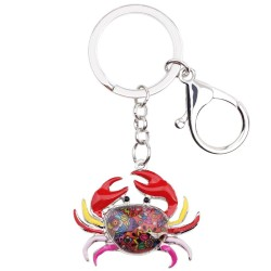 Cancer Zodiac Sign Keychain Keyring