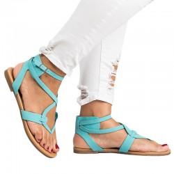 New Arrive Women Sandals Gladiator Summer Women Shoes Plus Size 35-43 Flats Sandals Shoes For Women