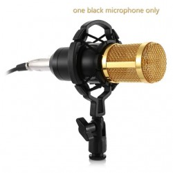 BM - 800 Dynamic Condenser Wired Microphone Mic Sound Studio for Recording Kit KTV Karaoke With Shock Mount
