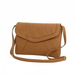 Vintage leather shoulder crossbody bag