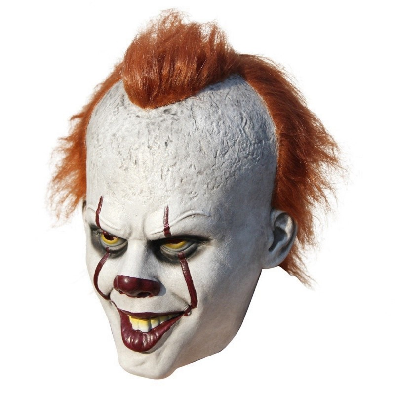 Halloween In Belgie.Clown Latex Halloween Masker Cosplay