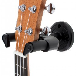 50mm wall mounted guitar hanger holder non-slip hook
