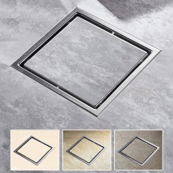 Square floor waste bathroom shower drain