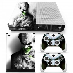 Xbox One Slim & Controllers joker vinyl skin sticker