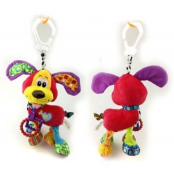 Baby infant soft animal rattle musical hanging toy