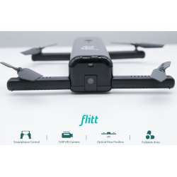 Flitt 720P WIFI FPV Optical Flow Positioning Foldable RC Drone Quadcopter